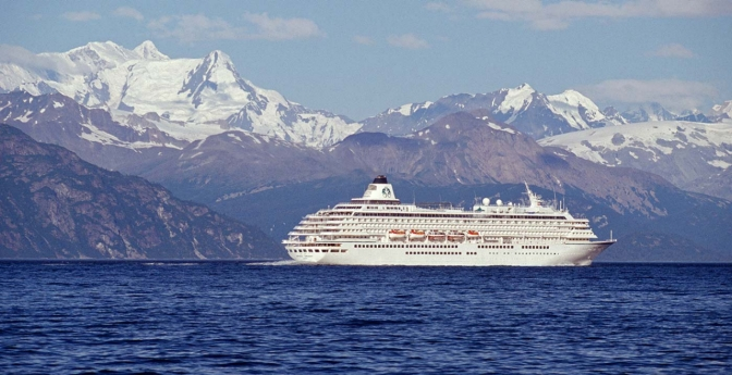 Experience Alaska's breathtaking views from the water.