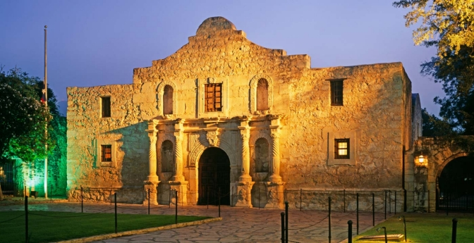 The Alamo, San Antonio, Texas