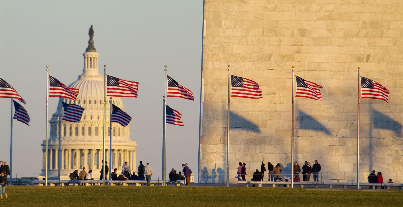 The National Mall and Washington, D.C., Memorials
