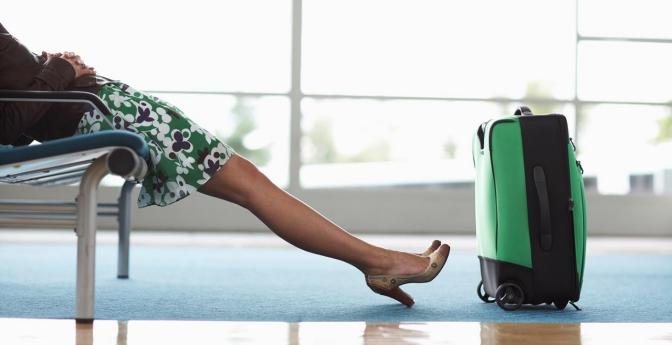 Tips to avoid stress when a flight is canceled.