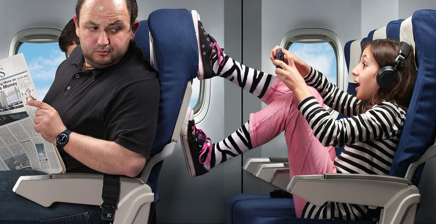 Effectively handle rudeness on your next flight.