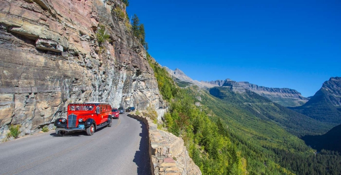 Take this summer road trip through Glacier National Park.