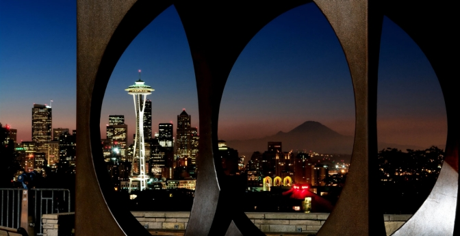 With a few exceptions, the happiest residents dwell in midsize cities like Seattle.