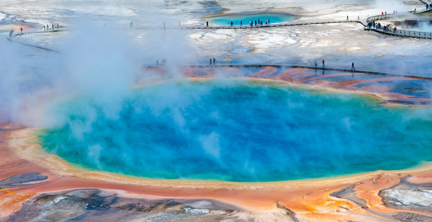The Yellowstone Caldera is the beating heart of a supervolcano