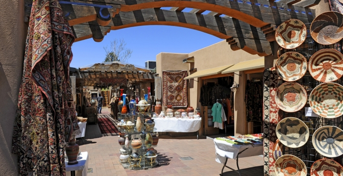 Santa Fe offers the hustle and bustle of shopping in the Plaza or a breathtaking walk through an aspen forest.