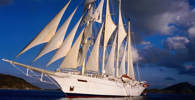 Consider setting sail on a smaller cruise ship and you'll avoid the crowds.