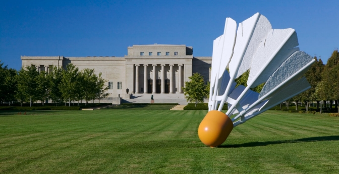 Shuttlecocks, Nelson-Atkins Museum of Art, Kansas City, Missouri