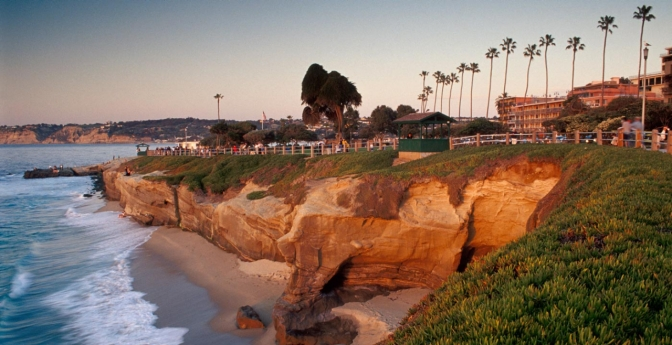 Scripps Park in La Jolla, near San Diego, is a great multigenerational vacation spot.
