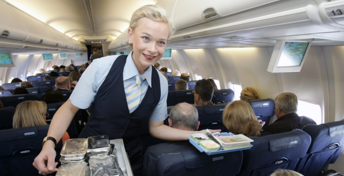 Flight attendants often have to bite their tongue when dealing with rude airline passengers.