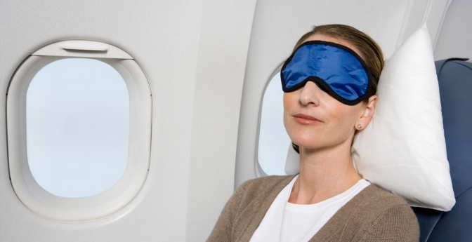 Be sure to pack an eye mask the next time you travel.