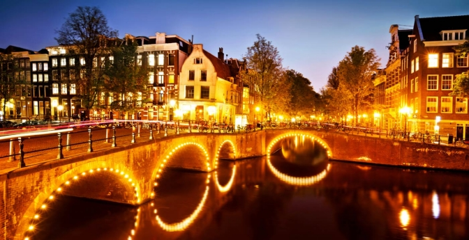 Amsterdam celebrates the 400th birthday of its famous canals.