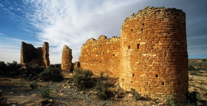 Delve into the history of the Puebloans at the Hovenweep National Monument.