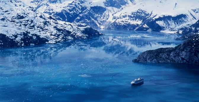 See amazing glaciers within Glacier Bay National Park.