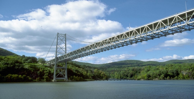 Bear Mountain Bridge, West Point, New York