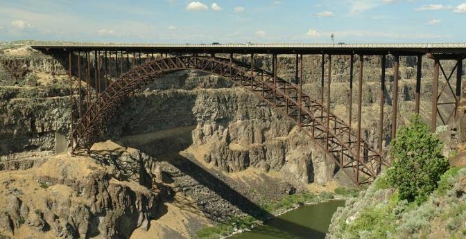 Perrine Bridge, Twin Falls, Idaho