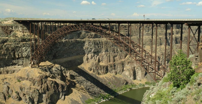 Perrine Bridge, Twin Falls, Idaho