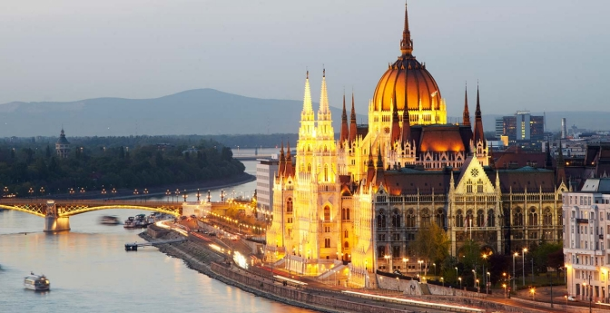 Danube, Hungary and Austria