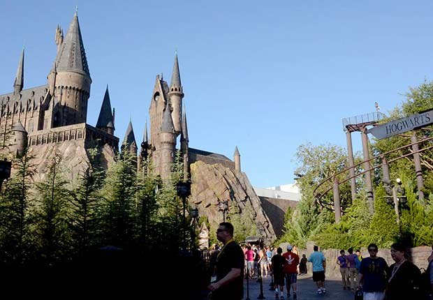 Thankgiving Getaways Travel Hogwarts Harry Potter Orlando