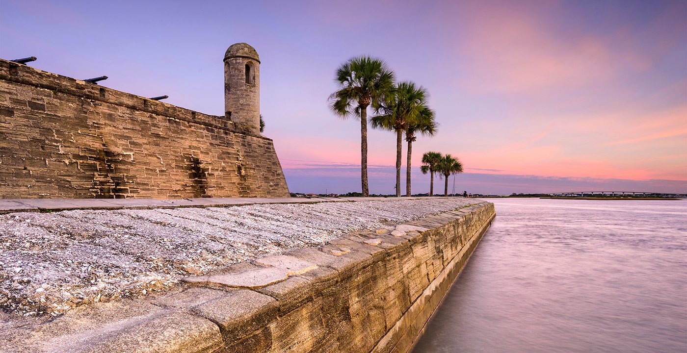 Best U.S. Cities for History Buffs - Fort in St. Augustine