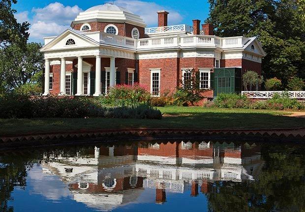 Ciudades para los aficionados a la historia - Charlottesville, Virginia Monticello