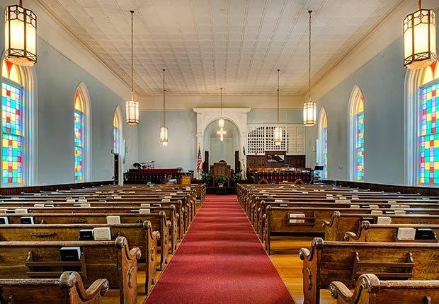 Ciudades para los aficionados a la historia - King Memorial Baptist Church
