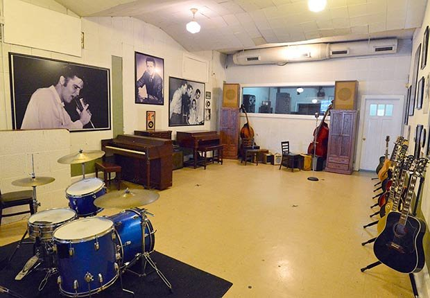 Ciudades para los aficionados a la historia - Nashville, Tennessee RCA Studio B