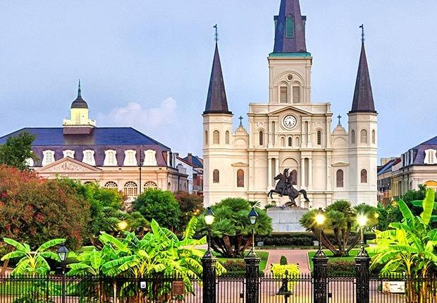 Ciudades para los aficionados a la historia - New Orleans, Louisiana