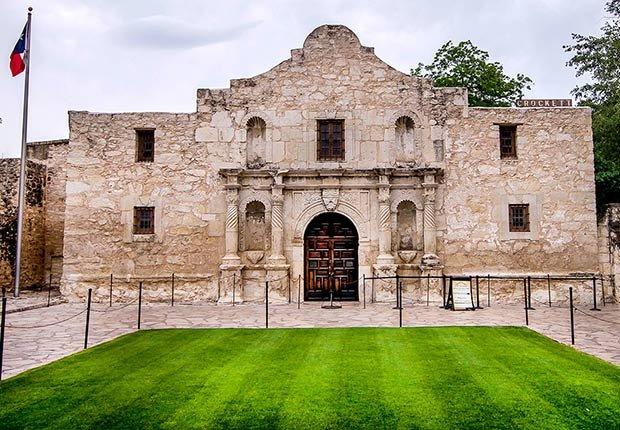Ciudades para los aficionados a la historia - San Antonio Texas The alamo