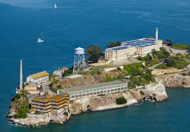 Ciudades para los aficionados a la historia - San Francisco, Ca. Isla Alcatraz