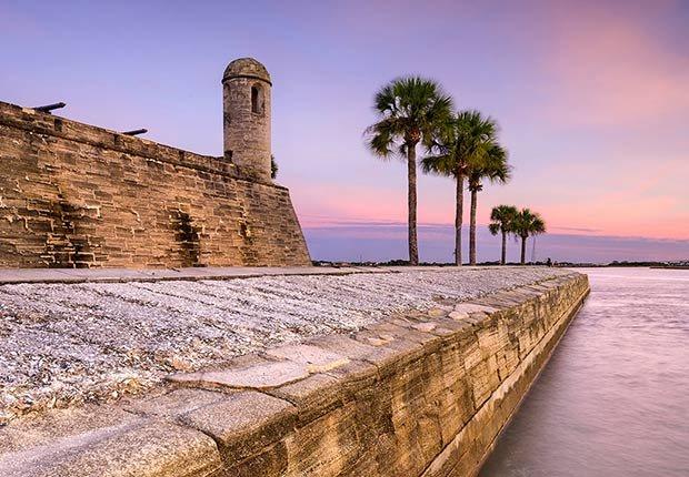 Ciudades para los aficionados a la historia - St. Augustine