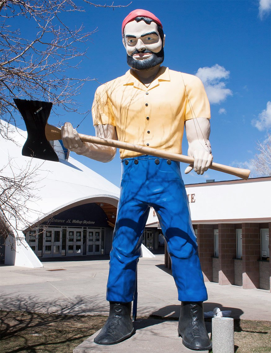 Lumberjack, The Muffler Men
