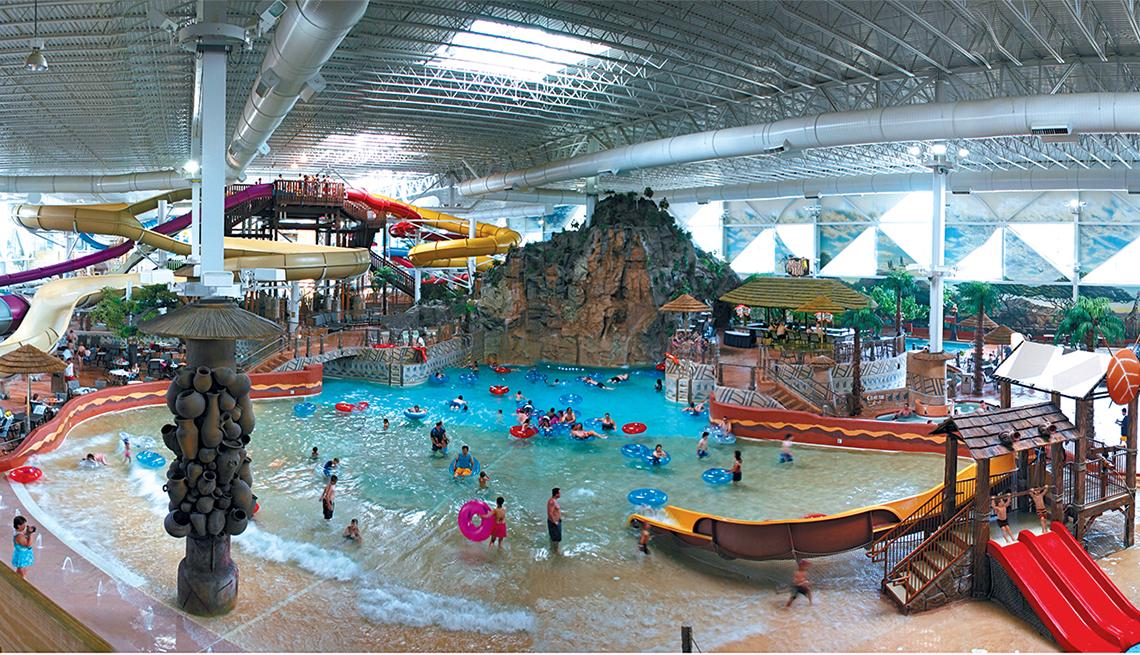 Parques acuáticos invernales