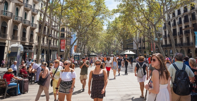 Barcelona Unrest