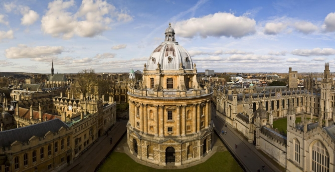 Bodleian Library, Oxford, England