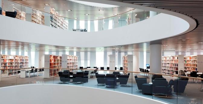 Sir Duncan Rice Library, University of Aberdeen, Scotland