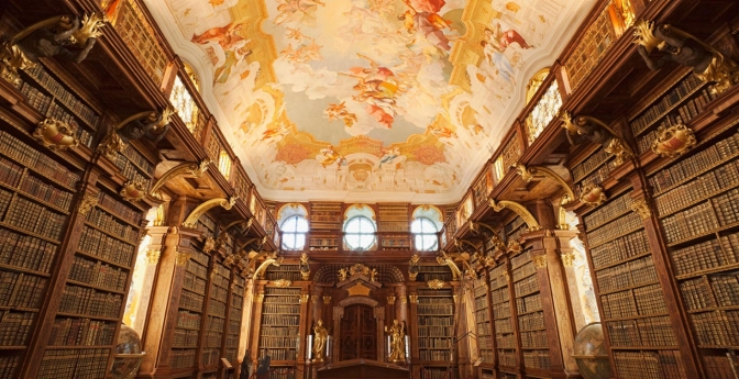 Melk Abbey Library/Monastery, Austria
