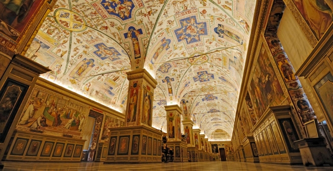 Vatican Library, Rome, Italy