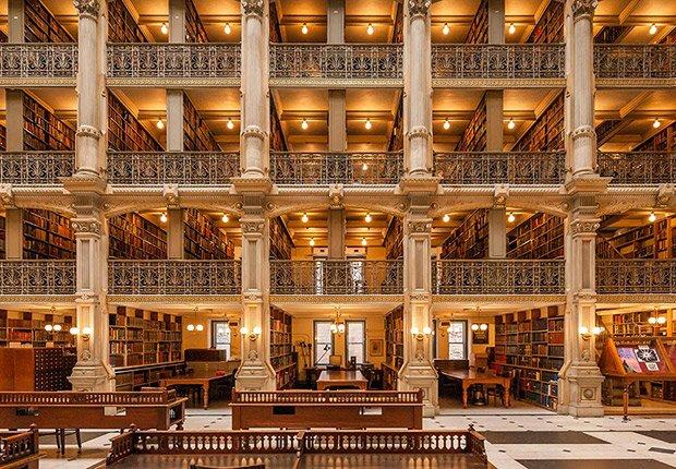 11 Consejos Para Fotografiar Impresionantes Cataratas Con: Bibliotecas Impresionantes En El Mundo