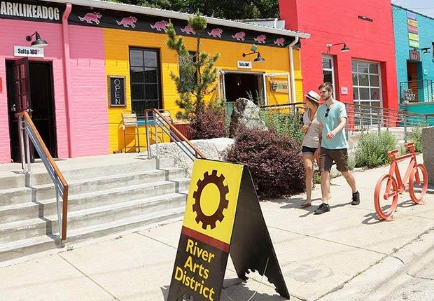 Mejores ciudades para el arte en EE.UU. - Asheville, NC