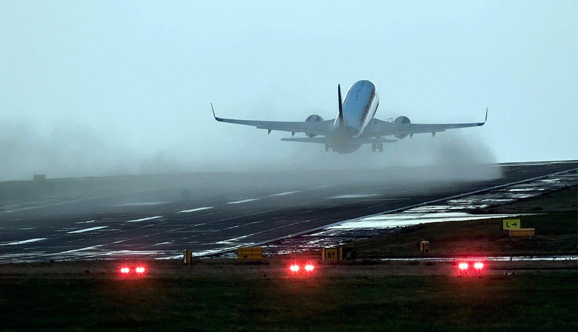 Consejos para volar durante el invierno