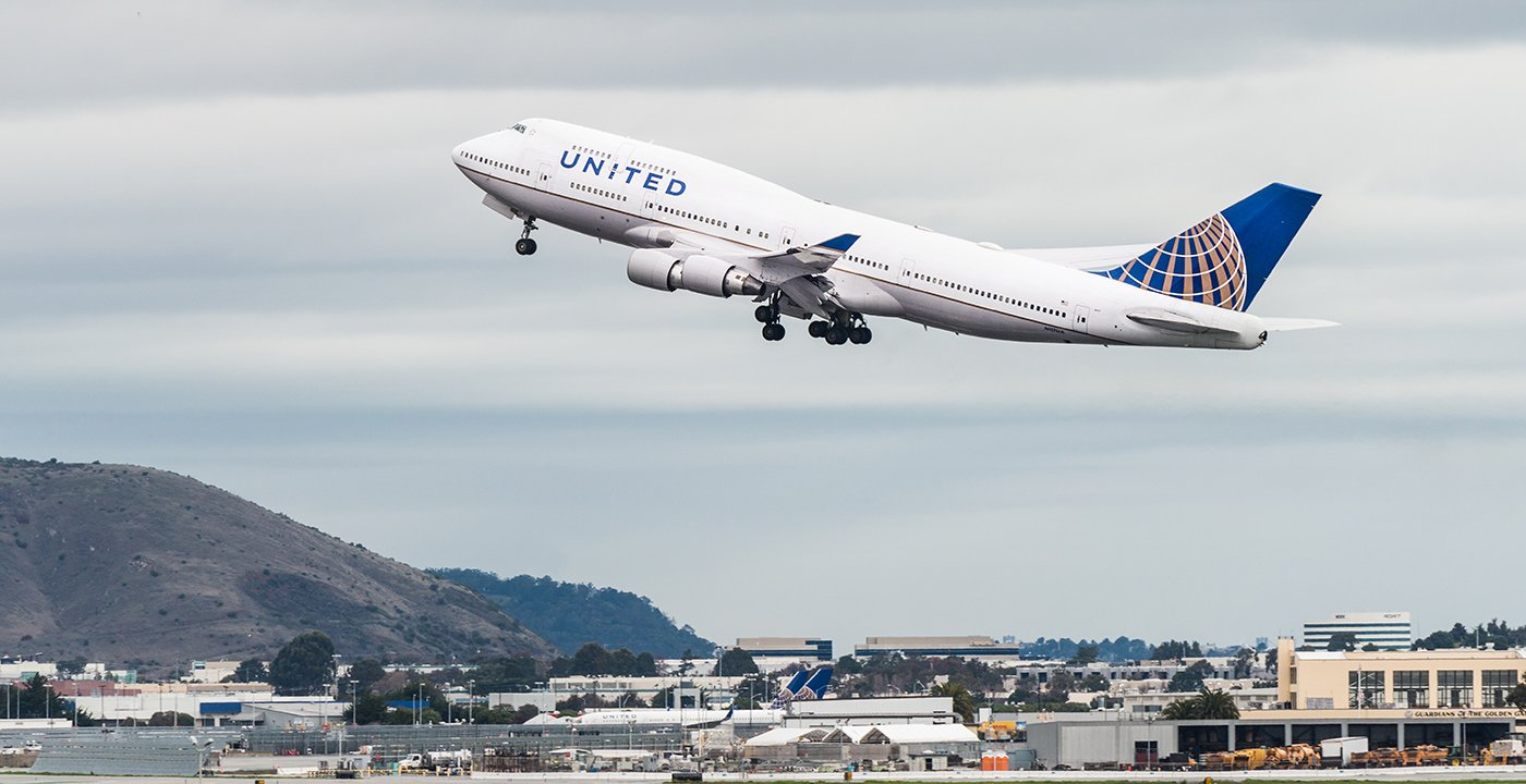 United Boeing 747 Last Flight