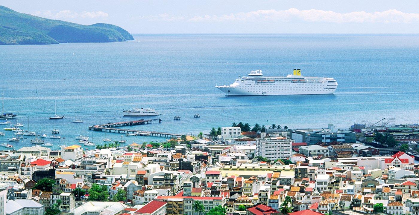 Crucero en el Caribe