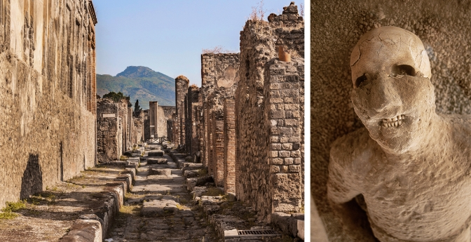 Pompeii and Herculaneum, Italy