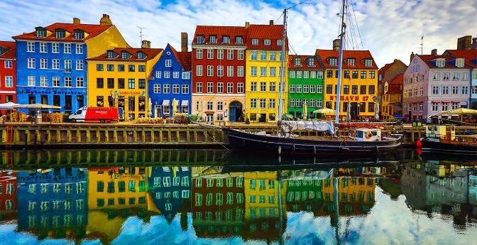The Canal in Nyhavn, Copenhagen