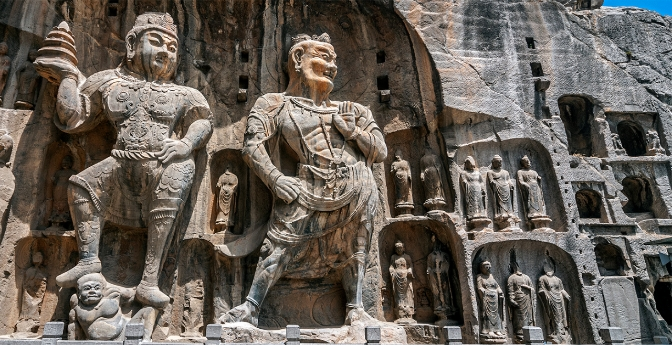 Longmen Grottoes, China