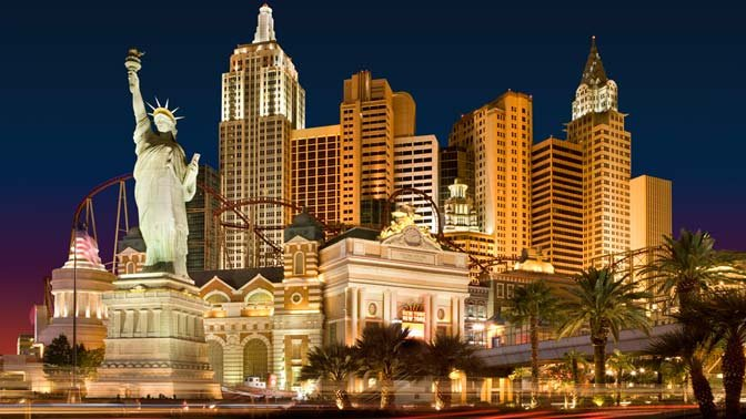 AARP travel ambassador Samantha Brown recommends the bests sites and eats in Las Vegas, which — with the New York, New York Hotel & Casino (pictured) — even has its own Big Apple.