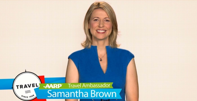 Samantha Brown, AARP Travel Ambassador