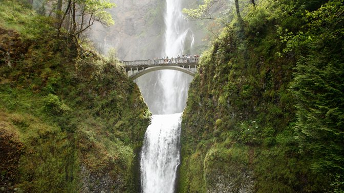 Multnomah Falls, Bridal Veil, Oregon