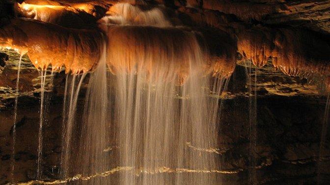 Marvel Cave Falls, Branson, Missouri