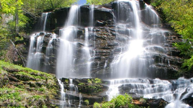 Amicalola Falls, Dawsonville, Georgia